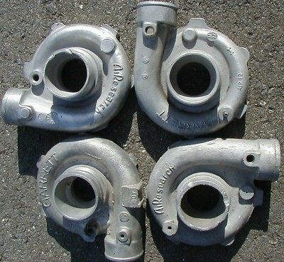 LOT of 4 Gart T3 turbo compressor housings / covers