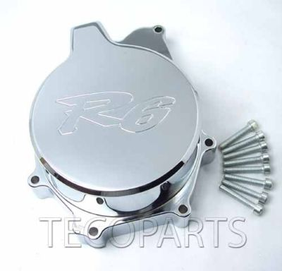 19992002 Yamaha YZF R6 Chrome Stator Engine Cover C