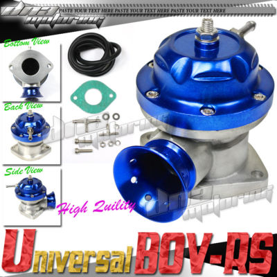 JDM RS TURBO/CHARGER ADJUSTABLE BLOW OFF VALVE BOV PSI