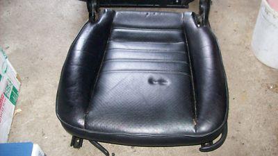 Porsche 911 964 968 951 944 Turbo S  Black Seat Bottom
