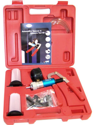 PRO VACUUM PUMP TEST  BRAKE BLEEDING BLEEDER TOOLS KIT