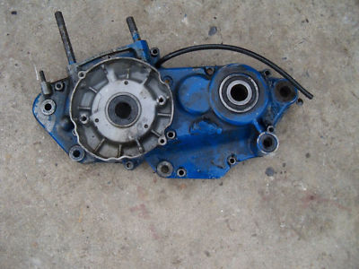 86 suzuki rm250 rm125 rm 250  left side engine case