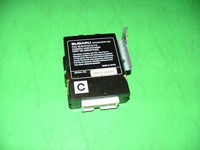 02 Subaru Impreza WRX Turbo KEYLESS ENTRY UNIT MODULE
