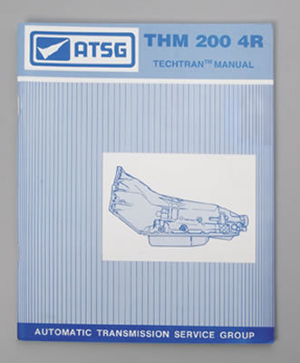 TCI Transmission Technical Overhaul Manual 894100