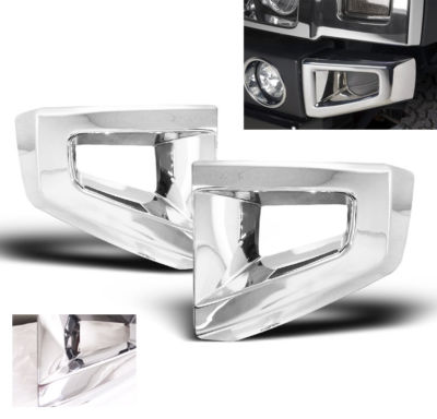 20052009 HUMMER H3 FRONT BUMPER TRIM COVER CHROME 2006