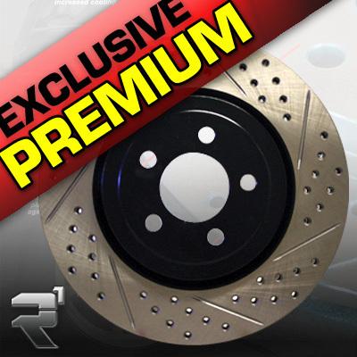 PORSCHE 944 TURBO 8788 Brake Rotors PREMIUM FRONT