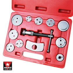 12 PC DISC BRAKE CALIPER AUTO WIND BACK TOOL KIT NEIKO
