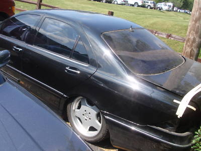 00 01 02 Mercedes S500 CL500 Automatic Transmission 81K