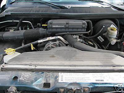 9301 Dodge Van 1500 2500 3500 Pickup ENGINE v8 5.9L