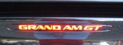 99,00,01,02,03,04 Pontiac Grand Am GT Brake Light Cover