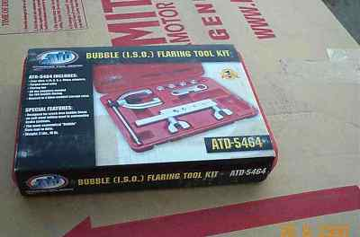 ATD5464 (ISO) AUTOTRUCK BRAKE LINE FLARING TOOL KIT
