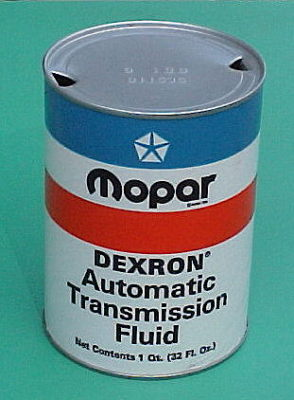 "MOPAR ""DEXRON Automatic Transmission Fluid"" Quart Can"
