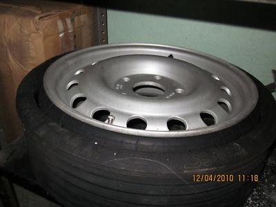 1986 porsche 944 turbo spare tire wheel never mounted