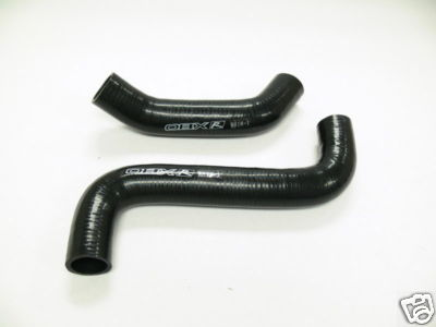 OBX Radiator Hose Kit Black Fit Subaru WRX Turbo 0205