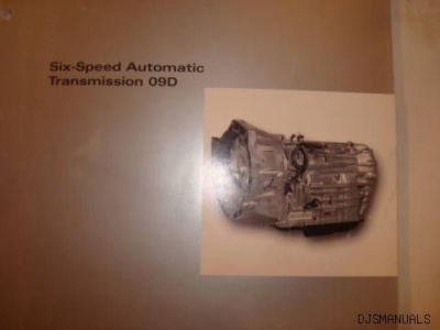 2003 VOLKSWAGEN SIX SPEED TRANSMISSION TRAINING MANUAL