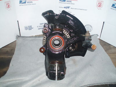 05 VW TURBO BEETLE FRONT SPINDLE HUB LH SIDE