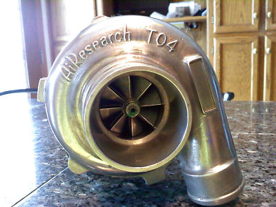 "Airesearch/ Gart T04B ""60"" trim T4 ON CENTER TURBO"