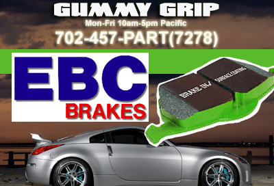 EBC Green F&R Brake Pads 9799 F150 5.4 2WD (Rear Whee