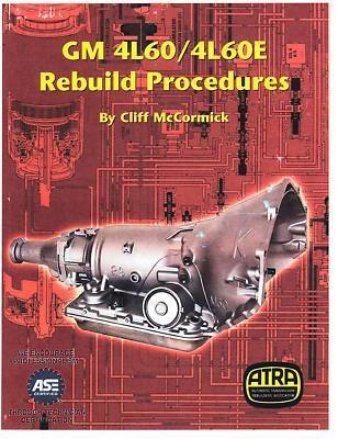 GM 4L60E TRANSMISSION REBUILD MANUAL ON CD