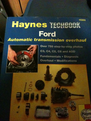 Haynes Automatic transmission overhaul techbook