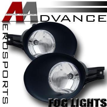 DODGE RAM OEM JDM CLEAR DRIVING BUMPER FOG LIGHTSCOVER