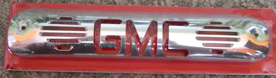 "THIRD BRAKE LIGHT COVER BILLET ""GMC"" 9907 FULLSIZE"