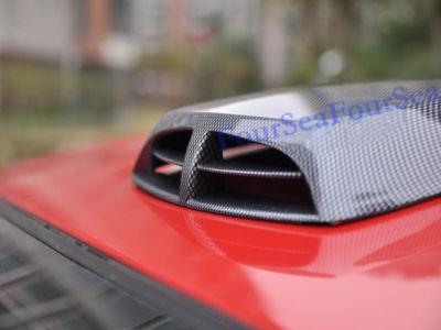 Carbon Fiber Air Flow Fender Hood Scoop For Volkswagen
