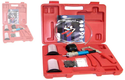 VACUUM PUMP TESTER hd BRAKE BLEEDER  2 IN 1  KIT TOOL