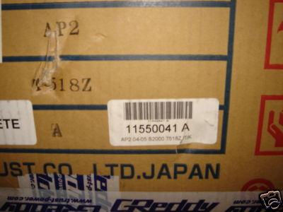 Greddy AP2 HONDA S2000 04 05 TURBO KIT INTERCOOLER JDM
