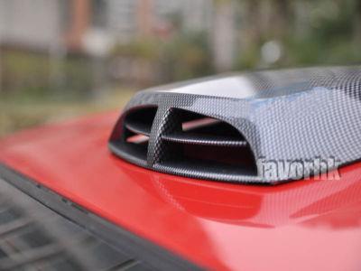 Hoods Scoop Car Air Flow Fender Vent Cover Carbon Fiber