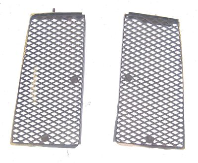 Porsche 914 Engine Lid Grill  Both Sides