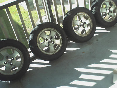 Honda Accord Winter Tires Alloy Wheels Set