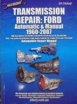 COMPLETE FORD TRANSMISSION REPAIR MANUAL AUTO 196007