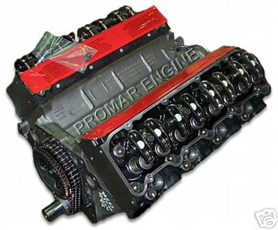 Reman 9203 Turbo GMC 6.5 Diesel Long Block Engine