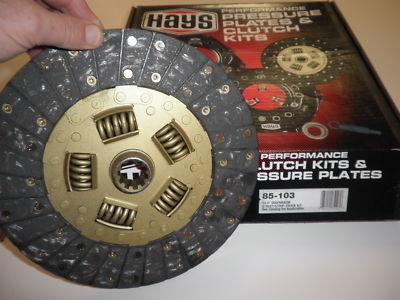 HAYS GM clutch disc 10.5″ street/strip #85103  Muncie