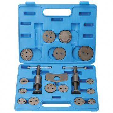18 Piece Disc Brake Pad and Caliper Service Tool Kit