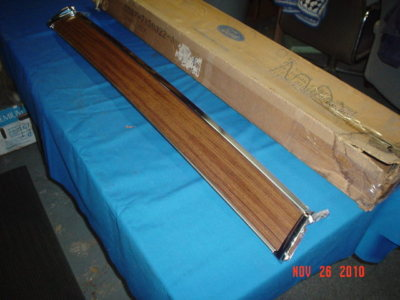 1969 Ford panel roof air deflector NOS