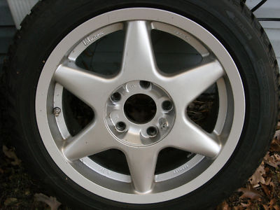 16″ wheels with Dunlap winter tires