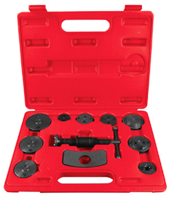 11 pc. Disc Brake Pad & Caliper Tool Kit Astro 7860