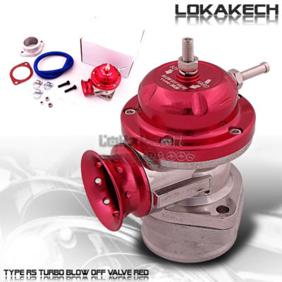 Universal JDM TypeRS / S Turbo Blow Off Valve BOV Red