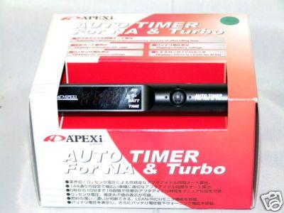 APEXI APEX AUTO TURBO TIMER TT BLACK LIMITED ED.