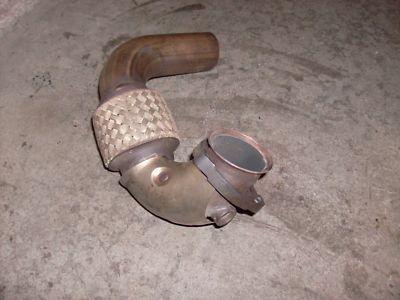 SAAB GART TURBO GT 17 EXHAUST HEAD PIPE