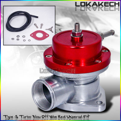Universal JDM TypeS/RS Turbo Blow Off Valve BOV Red