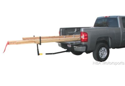 PICKUP TRUCK BED HITCH EXTENDER RACK LADDER LUMBER SUV