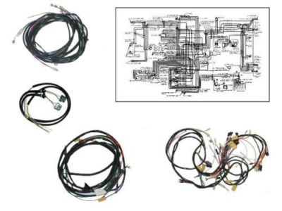 1956 Corvette Wire Harness Kit Manual Transmission