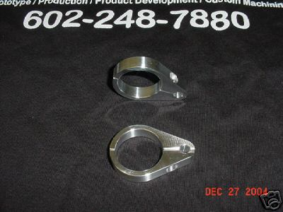 SANDRAIL,DUNEBUGGY,HARLEY,BILLET ,brake line clamps