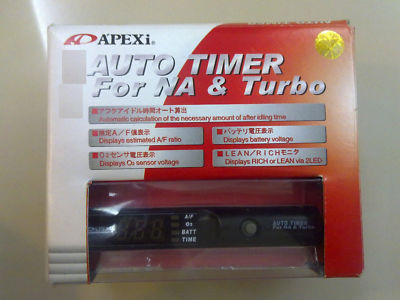 APEXI Auto Turbo Timer For NA With Blue LED Display