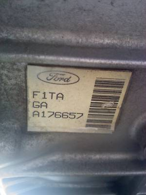 Ford F250 4×4 5 Speed Manual Transmission