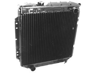 65 66 MUSTANG 5.0 ENGINE CONVERSION RADIATOR 3 ROW COOL