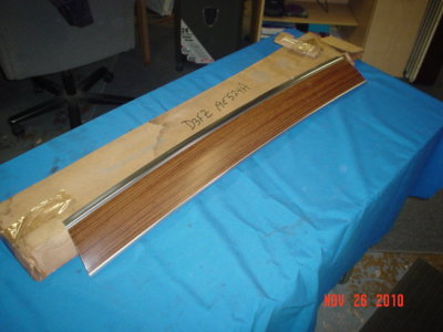 1973/UP Pinto panel roof air deflector NOS